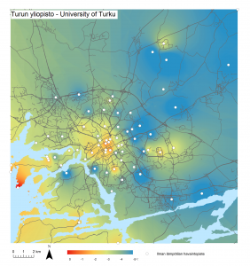research paper urban heat island